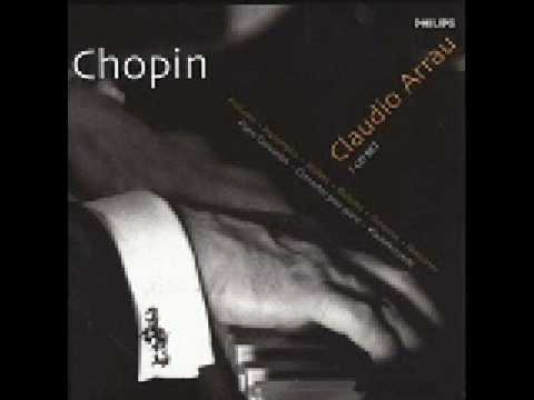 Claudio Arrau Chopin Prelude Op. 28 No. 4