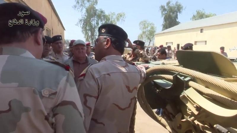 презентация новых Т-90ССК высшему командованию Иракской Армии