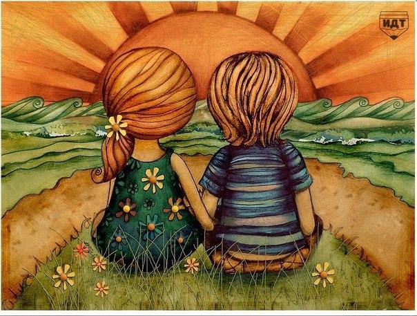 Друг — это тот, к кому можно прийти даже в 12 часов ночи. Друг — это тот, кто может выслушать тебя в… (1 фото) - картинка