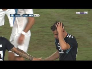 Аргентина 3:0 Гватемала / 08.09.2018