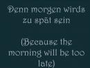 Faun-Diese Kalte Nacht (with lyrics and English translation)