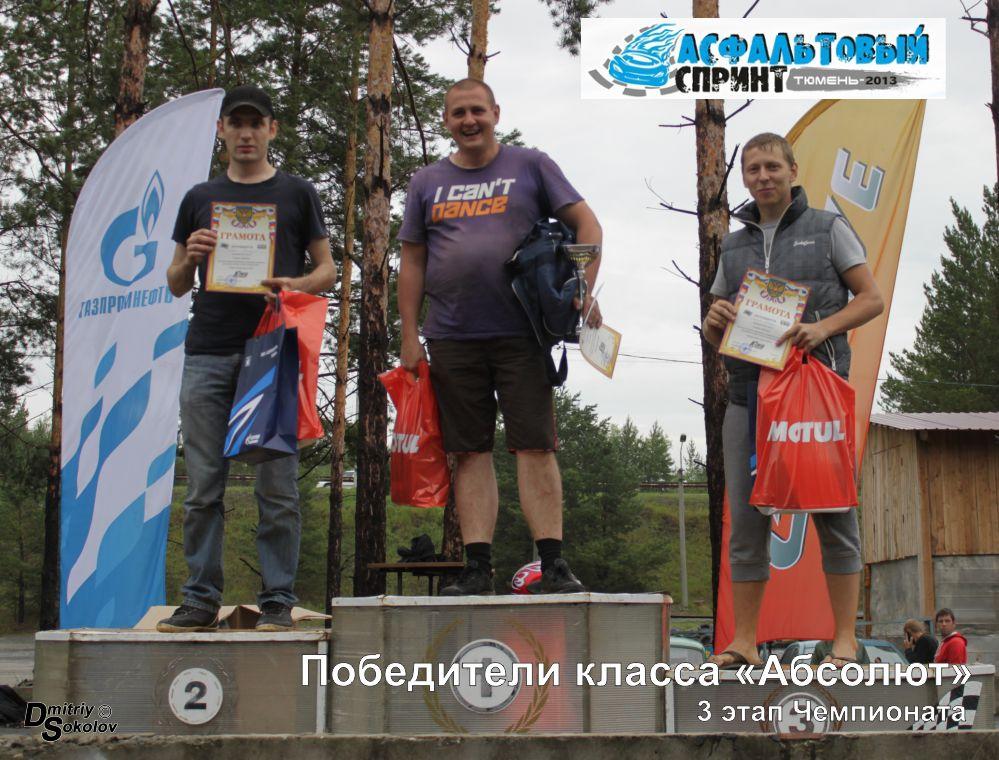"""Открытый чемпионат Тюмени """"Асфальтовый спринт 2013"""""""