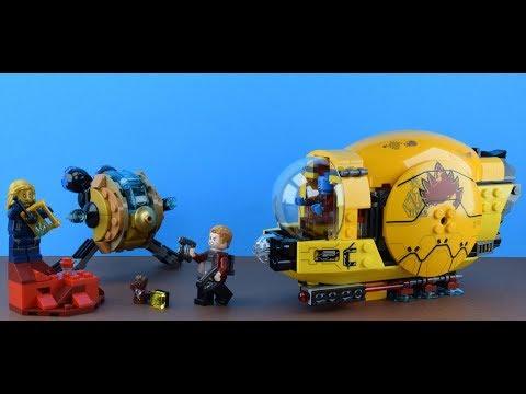 ОБЗОР НАБОРА ЛЕГО СТРАЖИ ГАЛАКТИКИ 76080 МЕСТЬ АИШИ / LEGO SUPER HEROES 76080 AYESHA'S REVENGE
