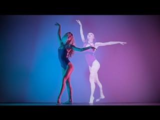 Holodance with Brit Hay Kirsten Leigh ( Сексуальная, Приват Ню, Private Модель, Nude 18+ )