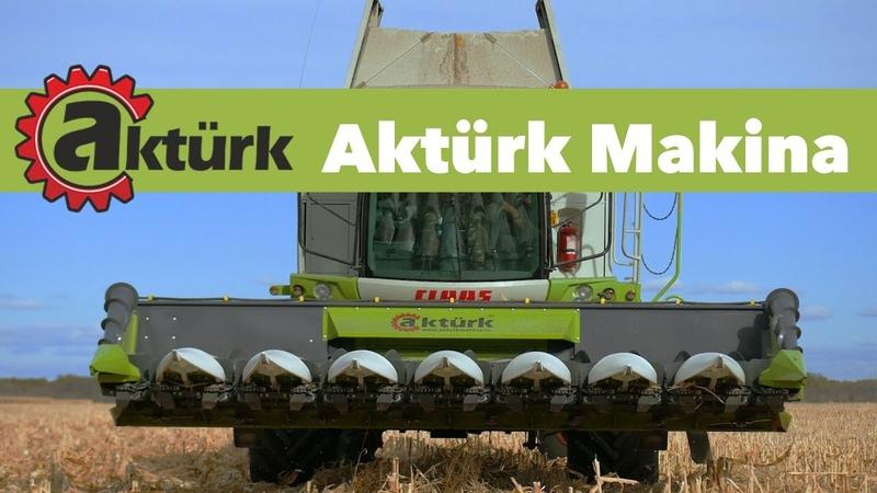 Жатки для уборки кукурузы Aktürk Makina