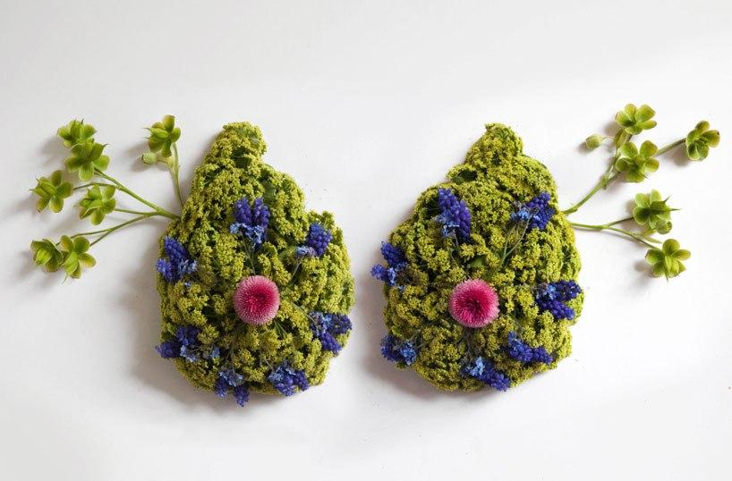 Цветочные человеческие органы