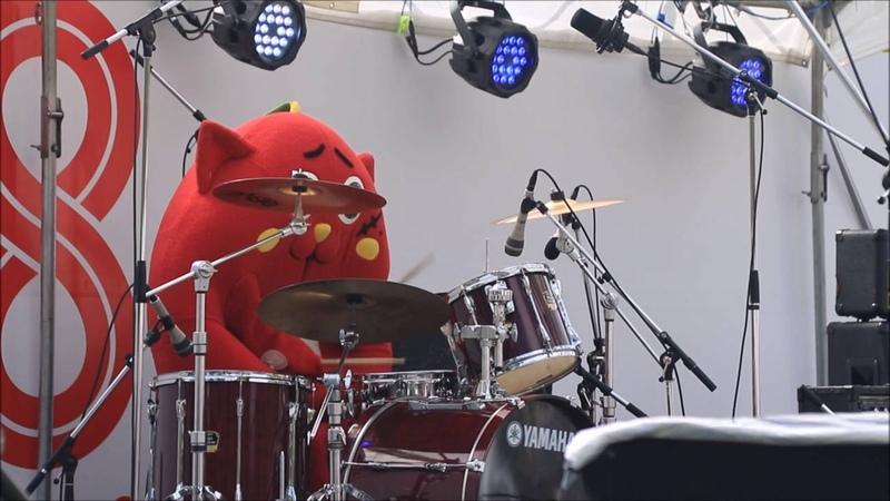 Nyango star drum perfomance