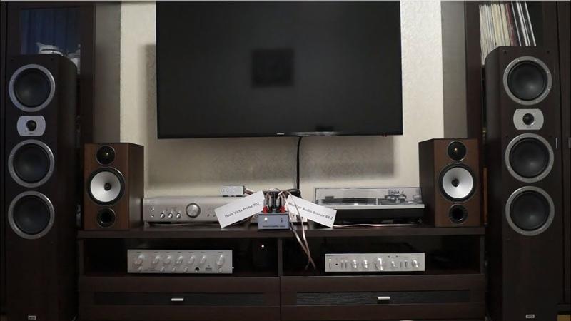 Behringer ECM8000 Распаковка Тесты HECO vs MonitorAudio Denon vs Амфитон