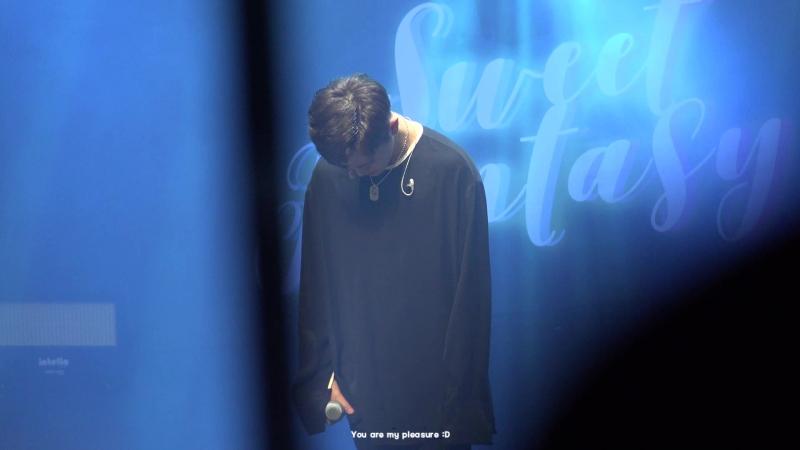 FANCAM   17.03.18   Donghun - Love in the ice @ Fan-con 2018 'Sweet Fantasy' in Seul