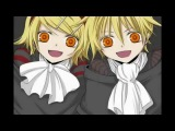 Вокалоиды Vocaloids trick and treat Кагамине Лен и Рин Kagamine Rin amp Len trick and treat