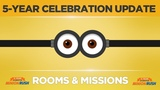 Minion Rush - Celebration Update - Rooms and Missions