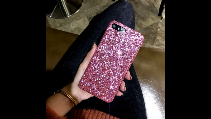 Bling Sequins Glitter Hard Case For iPhone X 7 7Plus Shinny Protecter for iPhone 6 6S 8 8P