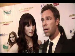 JR Bourne & Chyler Leigh @ Thirst Project Gala