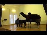 Гершвин - Прелюдии №№ 2, 1 для фортепиано (исп. Вадим Генин) (17.05.2018)