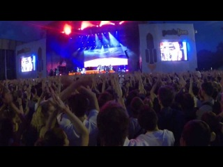 The Killers - Runaways (Park Live @ Moscow 29/06/2013)