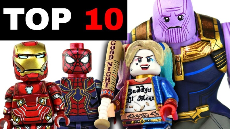 Top 10 BEST Custom LEGO Minifigs I Have Ever Made