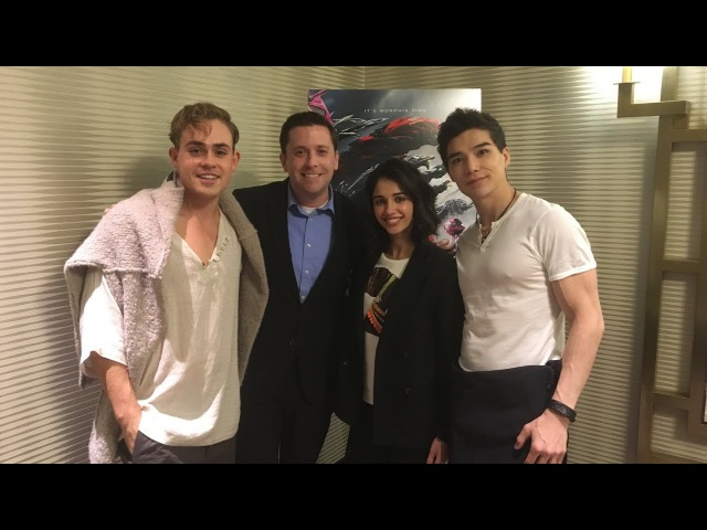 POWER RANGERS EXCLUSIVE: Interview with Dacre Montgomery, Naomi Scott, and Ludi Lin