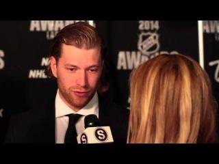 Claude Giroux Sauce Hockey Interview NHL Awards 2014