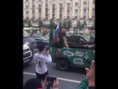 Обычный день в России хорошее настроение юмор смешное видео животное зверь медведь пробка иностранцы природа митинг