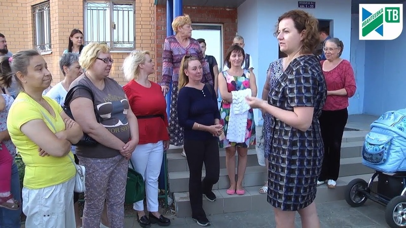 Встреча жителей Бережка с главой Ивантеевки по развитию района