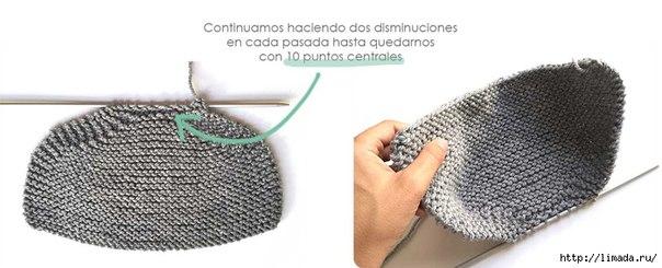 Вязанные штанишки спицами для малыша 0-3 месяца...