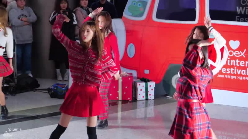181225 Dreamcatcher - You and I @ COEX Santa's Gift Bus