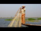 Мьянма. Озеро Инле. Рыбачок.