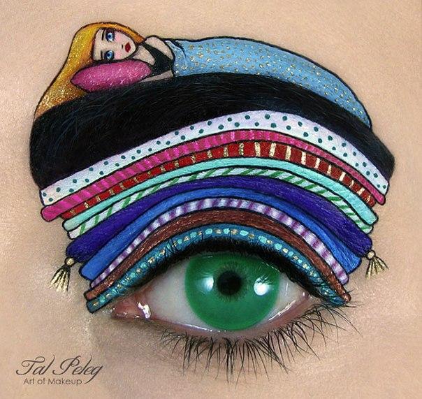 Идеи для безумного макияжа от визажиста Тала Пелег