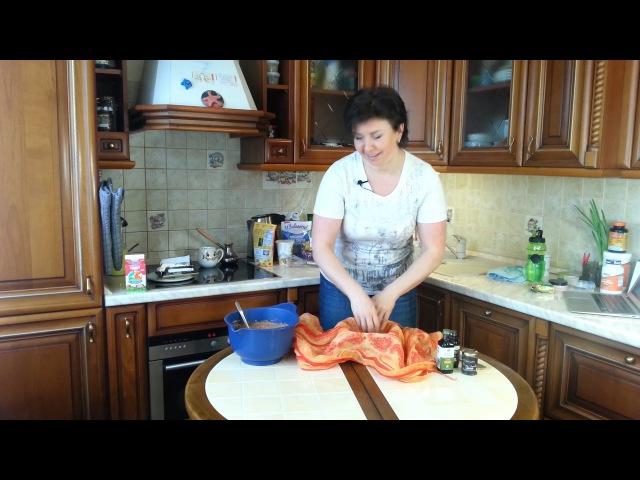 Шоколадная Пасха с курагой Рецепт от Светланы Аристовой