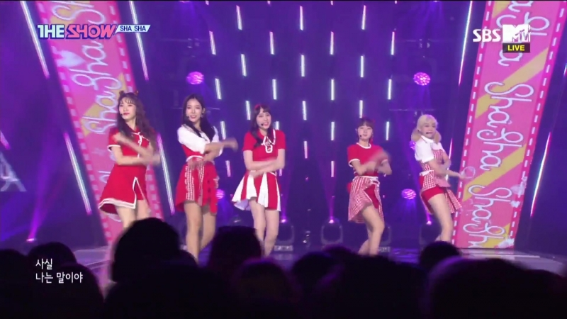 Sha Sha - What The Heck @ The Show 180918