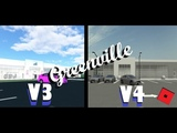 Roblox - Greenville Comparing the Current GV to the Revamp