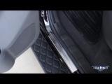 Накладки на пороги для Nissan Pathfinder III 2004+