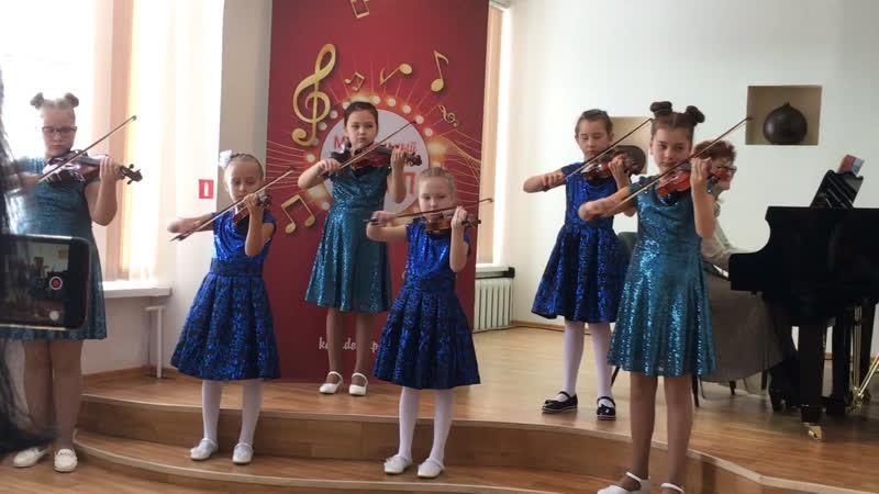 Музыкальная школа имени Андреева. 2019 г. Город Нефтеюганск