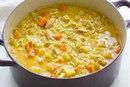 Зимний суп с курицей