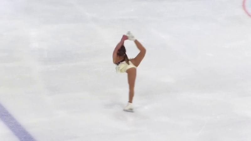 Alissa SCHEIDT GER Free Skate 2018 Golden Spin of Zagreb