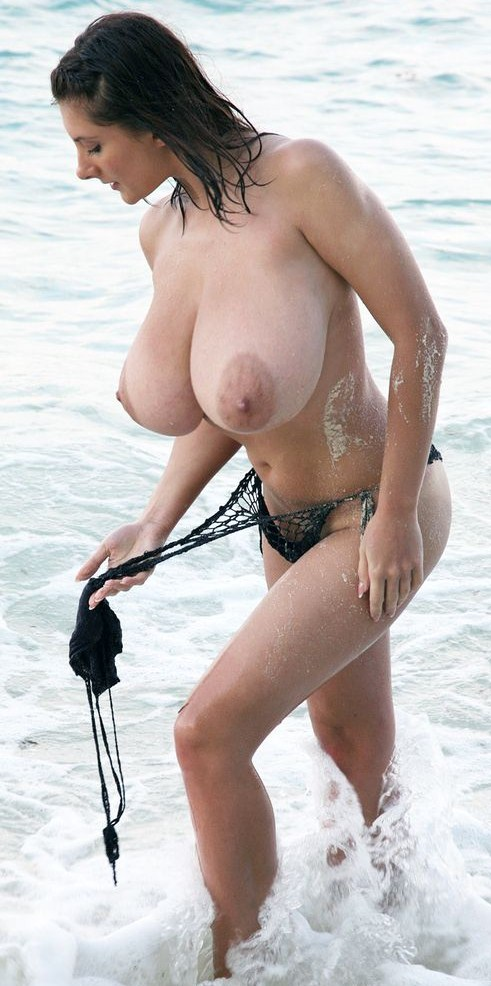 Big breasts tgirl ShaSha strokes her dick