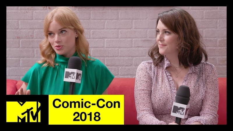 Melanie Lynskey and Jane Levy on Castle Rock, Stephen King, More | Comic-Con 2018 | MTV