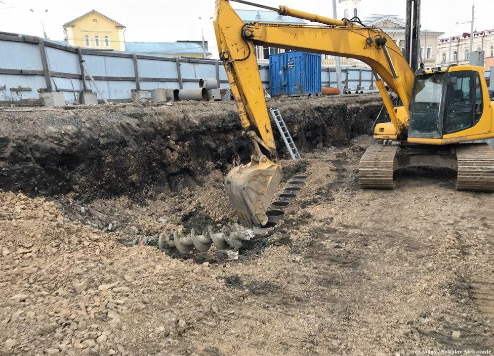 На Набережной Ушайки в Томске обнаружены человеческие останки