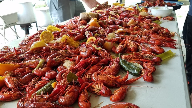 Crawfish Boil With The Family Friends 2019