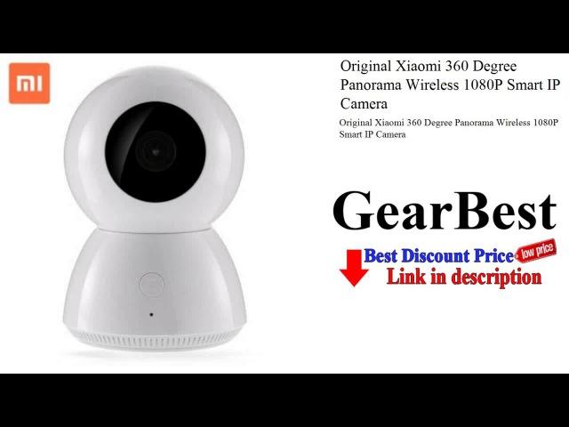 Original Xiaomi 360 Degree Panorama Wireless 1080P Smart IP Camera - Gearbest
