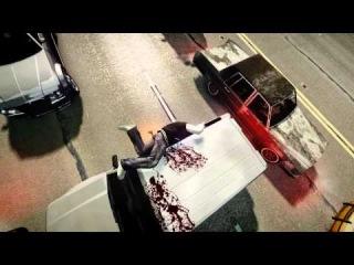 GTA 4 прыжок на тачку