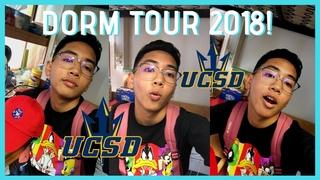 COLLEGE DORM ROOM TOUR 2018! (UCSD Freshman Edition) | Guy / Boy