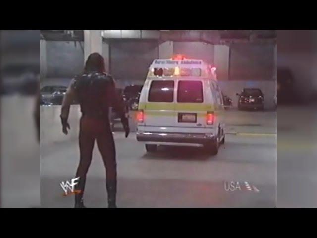 WWF Kane Threatens The Undertaker To Hurt Him
