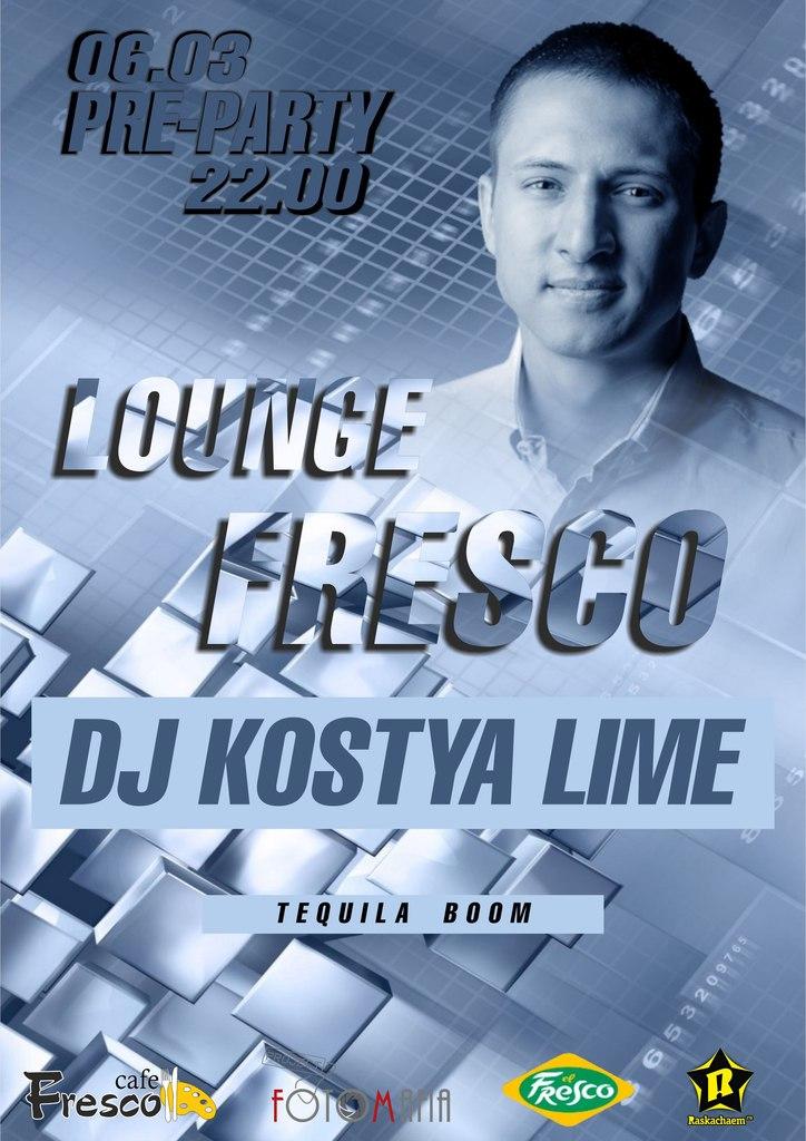 Афиша Калуга LOUNGE FRESCO pre-party