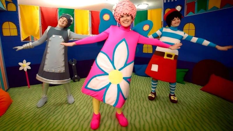 Чударики - Самолет ( детская зарядка, физминутка ). Видео для детей.