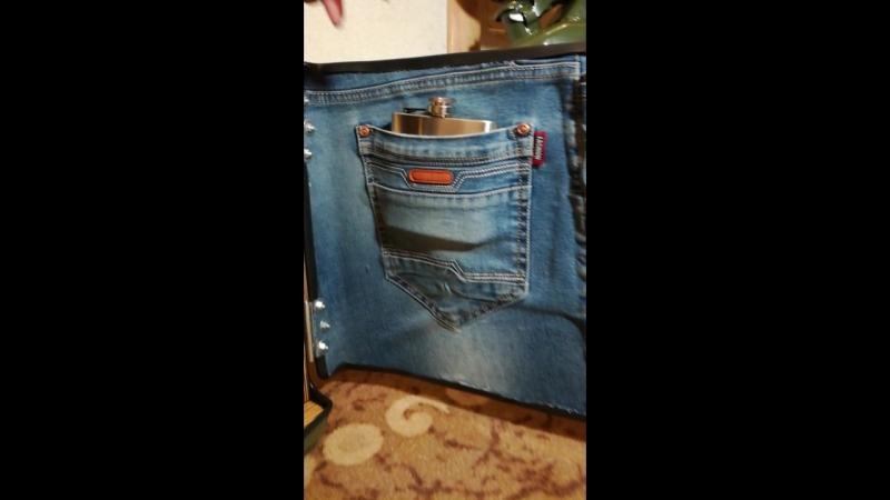 Канистра бар Стандарт в джинсе
