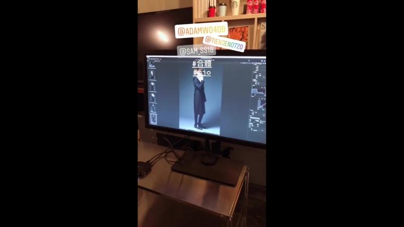 Видео из инста сторис Сэма Чена / sam_ss18, 101018