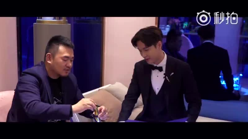 [VIDEO] 181015 Chaumet Josephine Cafe x Yixing