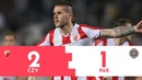 SUPERLIGA Crvena zvezda Partizan 2 1 Pregled utakmice