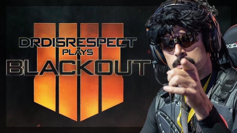 DrDisRespect vs Blackout [Call of Duty Battle Royale]